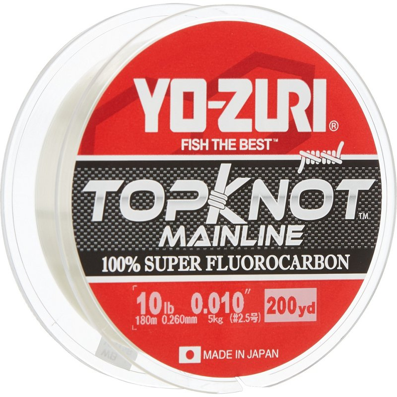 Yo-Zuri Topknot MainLine NEW Natural Clear 16 lb 200 yards
