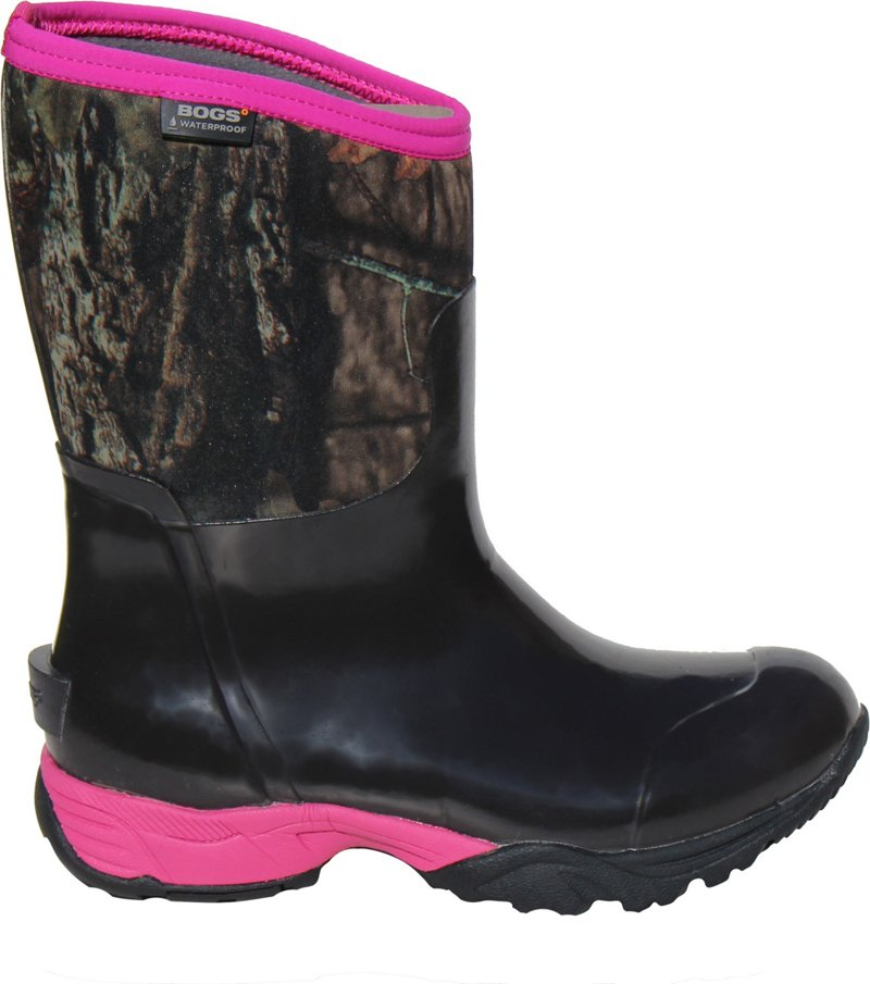 Bogs Women's Meridian Camo Boots (Mossy Oak/Pink, Size 6) - Crocs And Rubber Boots at Academy Sports thumbnail