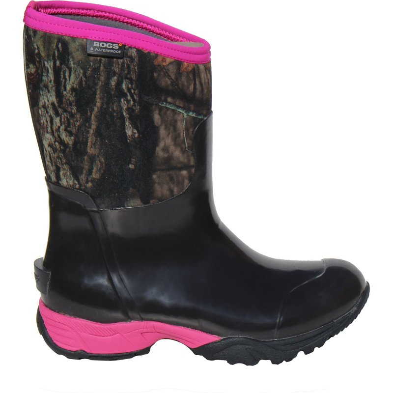 Bogs Women's Meridian Camo Boots Mossy Oak/Pink, 10 - Crocs And Rubber Boots at Academy Sports thumbnail