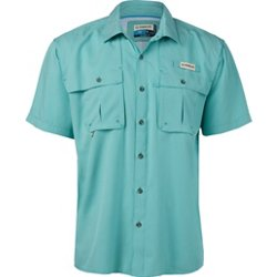 Men's Aransas Pass Mini Check Short Sleeve Shirt