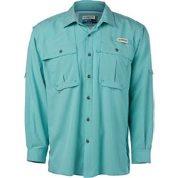 Men's Aransas Pass Mini Check Long Sleeve Fishing Shirt
