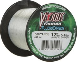 500 yards Fluorocarbon Fishing Line