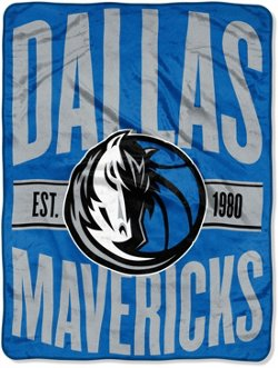 The Northwest Company Dallas Mavericks Clear Out Micro Raschel Throw