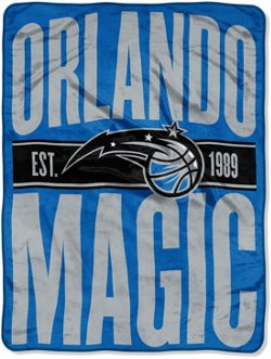 The Northwest Company Orlando Magic Clear Out Micro Raschel Throw