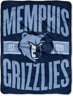 The Northwest Company Memphis Grizzlies Clear Out Micro Raschel Throw