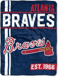 The Northwest Company Atlanta Braves Walk Off Micro Raschel Throw