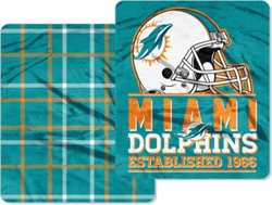 The Northwest Company Miami Dolphins Homefield Cloud Throw