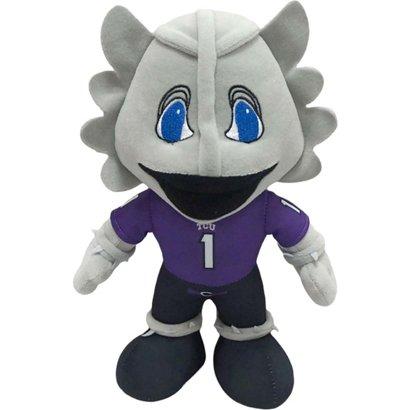 forever collectibles texas christian university mascot pro bro plush