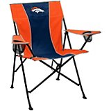 Logo Denver Broncos Pregame Chair
