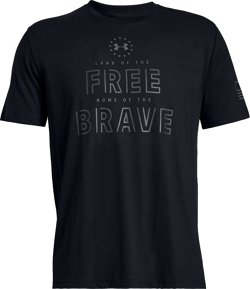 Men's Freedom Free and Brave Graphic T-shirt