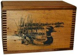 Evans Sports Swimming Duck Ammo Box