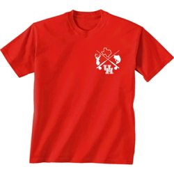 Men's University of Houston Split Circle T-shirt
