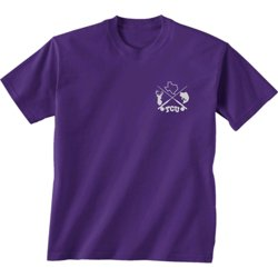 Men's Texas Christian University Split Circle T-shirt