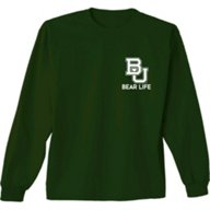 New World Graphics Men's Baylor University Living the Life Long Sleeve T-shirt