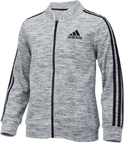 adidas Girls' Velour Bomber Jacket