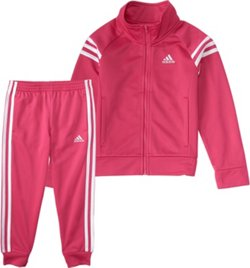 adidas Girls' Event Tricot Jacket Set