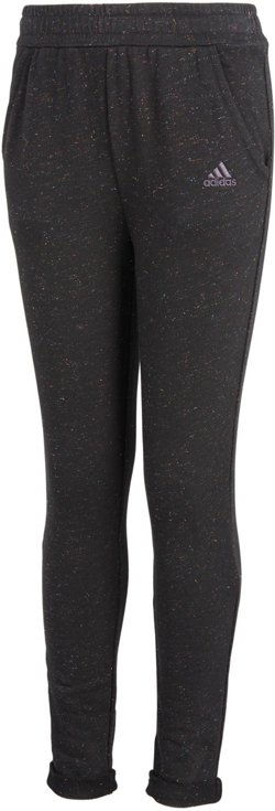 adidas Girls' Sparkle French Terry Jogger Pants