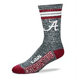 For Bare Feet University of Alabama Got Marbled Crew Socks