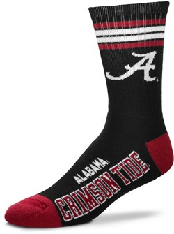 For Bare Feet University of Alabama Deuce Crew Socks