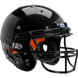Youth Recruit Hybrid Football Helmet with Attached DNA ROPO Guard