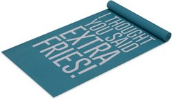 Well & Fit Fries Yoga Mat