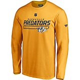 5ea8023c5 Nashville Predators Men s Authentic Pro Prime Long Sleeve T-shirt