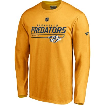 Nashville Predators Men s Authentic Pro Prime Long Sleeve T-shirt ... 408b715ee