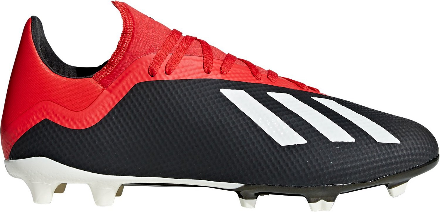 0efff70d6 adidas Men s X 18.3 Firm Ground Soccer Cleats