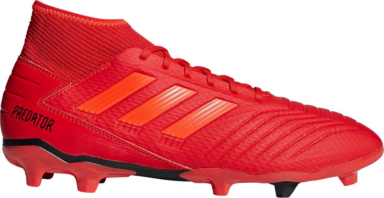 bfe80c9d4 adidas Men s Predator 19.3 Firm Ground Soccer Cleats