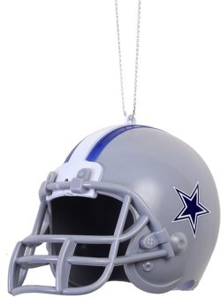 Forever Collectibles Dallas Cowboys ABS Helmet Ornament