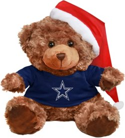 Forever Collectibles Men's Dallas Cowboys Bear with Santa Hat