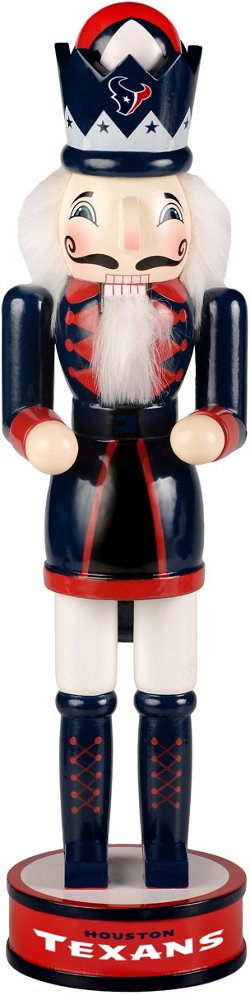 Forever Collectibles Houston Texans 14 in Holiday Nutcracker