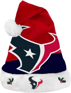 Forever Collectibles Men's Houston Texans Basic Santa Hat