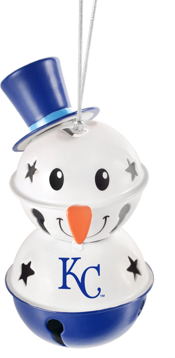 Forever Collectibles Kansas City Royals Snowman Bell Ornament | Academy