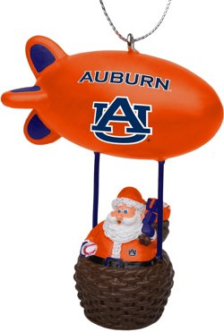 Forever Collectibles Auburn University Santa Blimp Ornament