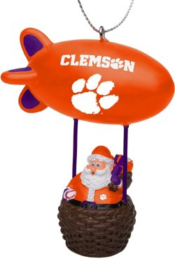 Forever Collectibles Clemson University Santa Blimp Ornament