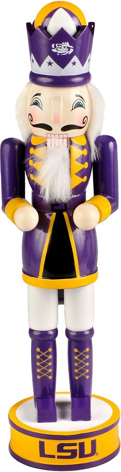 Forever Collectibles Louisiana State University 14 in Holiday Nutcracker