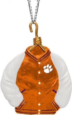 Forever Collectibles Clemson University Varsity Jacket Ornament