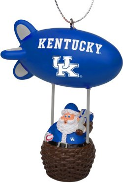 Forever Collectibles University of Kentucky Santa Blimp Ornament
