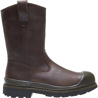 30ecdb87263 Wolverine Men's Crawford EH Steel Toe Wellington Work Boots