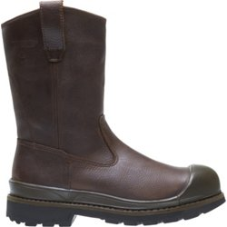 Men's Crawford EH Steel Toe Wellington Work Boots