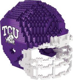 Texas Christian University 3-D BRXLZ Helmet Puzzle