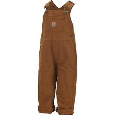 Carhartt Toddler Boys' Flannel Lined Canvas Bib Overalls