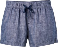 Women's Athletic Chambray Shorts