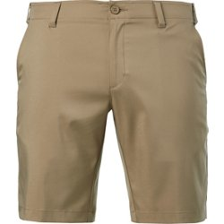 Men's Solid Golf Shorts 10 in