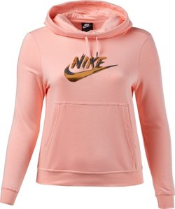 Nike Women's Funnel-Neck Fleece Hoodie