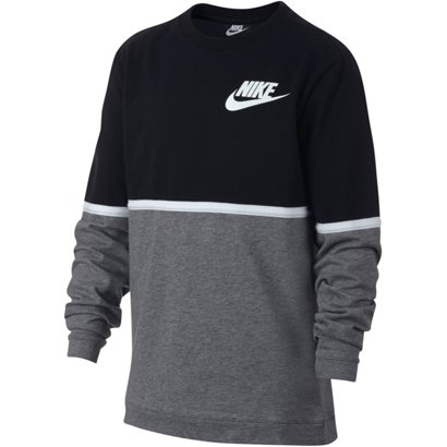 0a416bae846a ... Nike Boys  Sportswear Advance 15 Crew Long Sleeve Shirt. Boys  Shirts.  Hover Click to enlarge