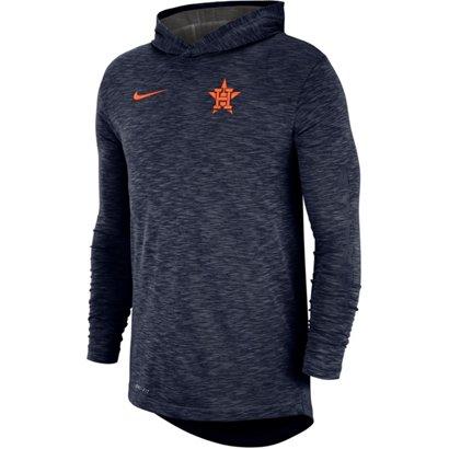 5bbda5353ab6c ... Nike Men s Houston Astros Dri-FIT Cotton Slub Hoodie T-shirt. Astros  Shoes   Socks. Hover Click to enlarge