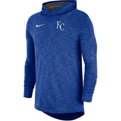 906d1691ab3 Nike Men s Kansas City Royals Slub Hoodie T-shirt