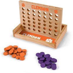 Wild Sports Clemson University Table Top 4-in-a-Row Game